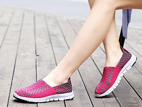 GFONE - Zapatos de tacón  mujer rosa (b)