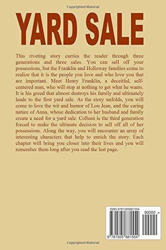Yard Sale Generations Volume 1 Marlene Mitchell 9781505881554