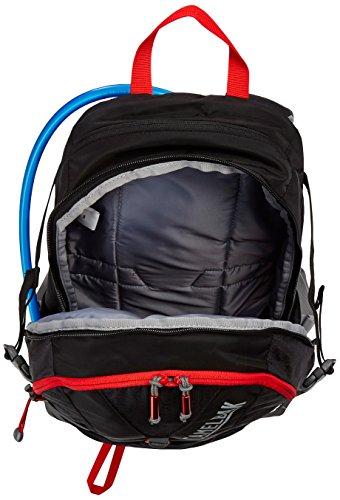 CamelBak Fourteener 20 Hydration Pack Trinkrucksack, 100 oz Black/Fiery Red