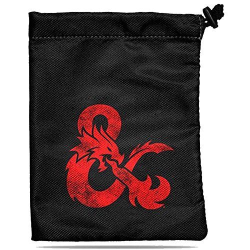 Dungeons and Dragons Treasure Nest Dice Bag