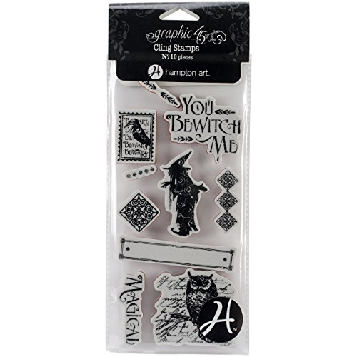Graphic 45 Cling Stamp, Grim Fairytale (Fairy Tale Stamp)
