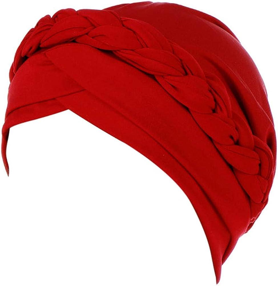 Conquror Foulard islamique islamique en coton avec foulard en foulard hijab Turban Bonnet Chaud Envelopp/é Turban Chaud Chapeau Wrap