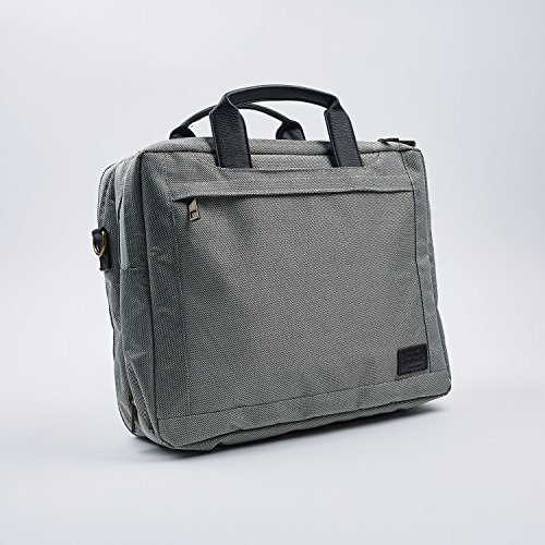 Hackpack Luxury Convertible Briefcase & Backpack for Commuting Professionals - 15'' laptops by Hackpack