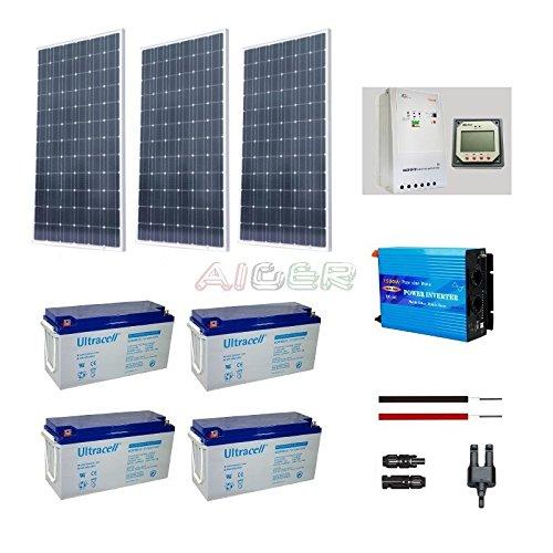 Kit fotovoltaico de 750 W a 230 V