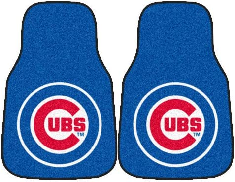 Carpeted Car Mat Fanmats MLB 18 x 27 in