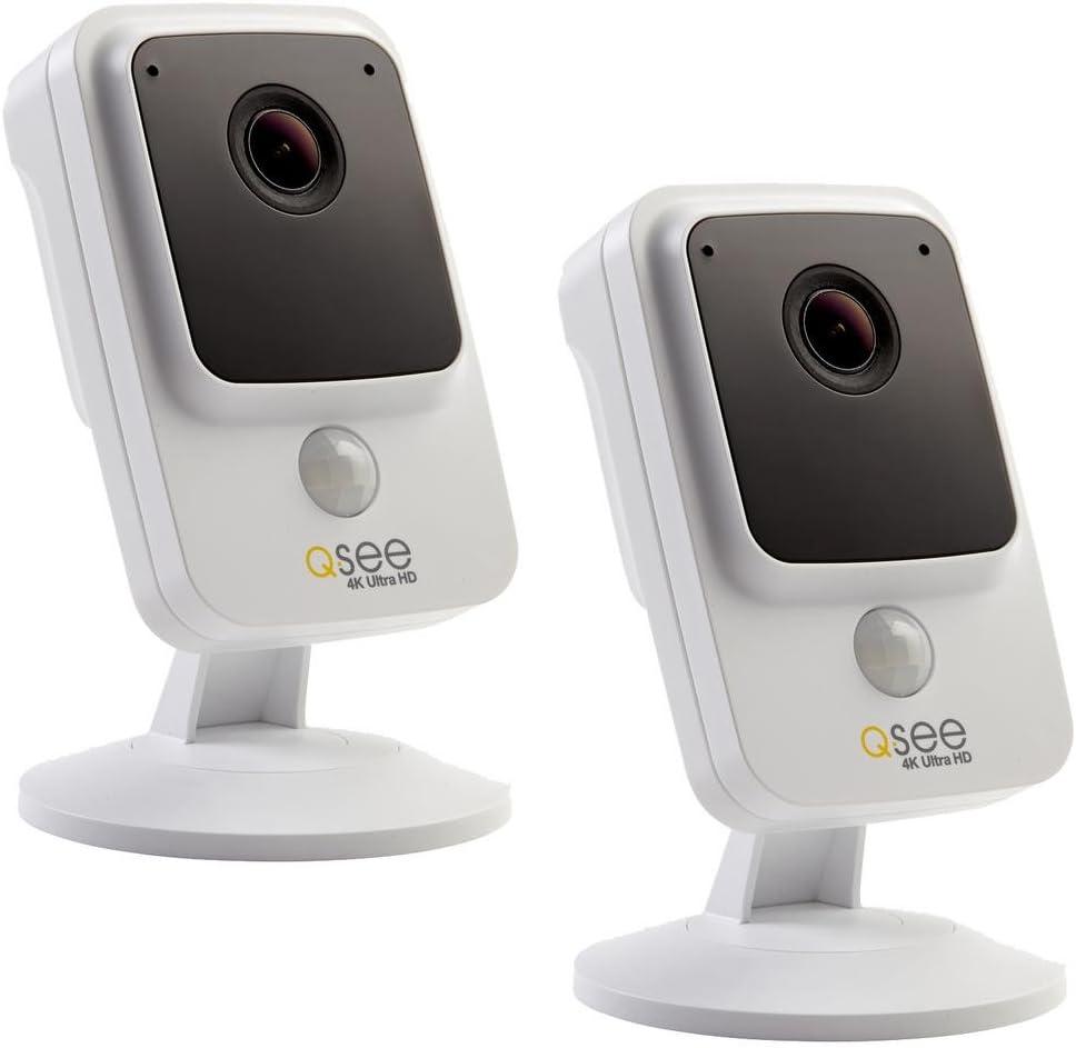 Q-See QCA8095B 4K Ultra Analog HD Bullet Security Camera  PIR /& Night Vision