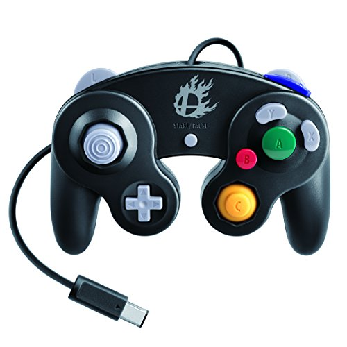 Nintendo Super Smash Bros. Edition GameCube Controller for Wii U Black WUPACKB1
