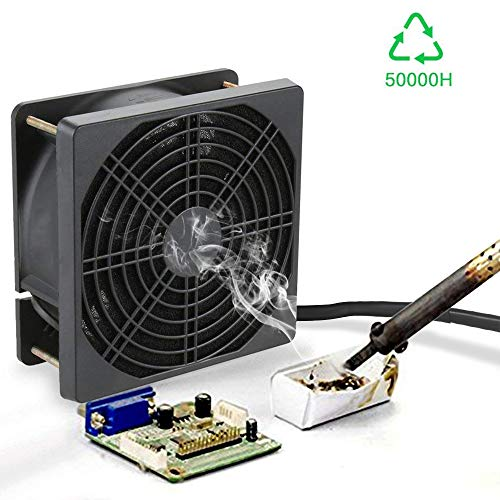 Kulannder Handy Carry Solder Smoker Absorber Remover Fume Extrator Smoke Prevention Absorber DIY Working Fan
