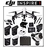 DJI Inspire 1 v2.0 Quadcopter with 4K Camera and 3-Axis Gimbal + DJI TB47 Intelligent Flight Battery + DJI Battery Charging Hub + DJI 1345T Quick-Release Props + Card Reader + Sony 32GB Card Bundle