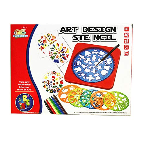 Children's Educational Toys | Drawing Template Tools | Hollow Painting Plastic Template | DIY Graffiti Painting Template|Art Design -