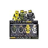 HALO 3 Kubricks MASTER CHIEF 4 Figure LEGO Boxed set - RARE!