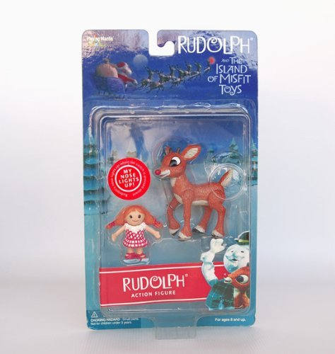 Rudolph and the Island of Misfit Toys Action Figure - Rudolph and Misfit Doll ()