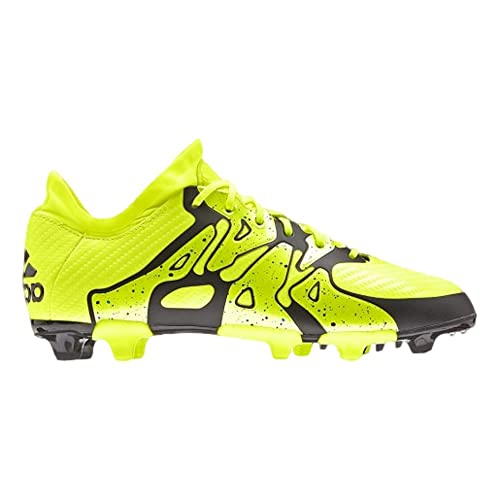 quality design e41dc 784e0 Image Unavailable. Image not available for. Color  adidas X 15.1 FG AG  Junior - Solar Yellow Frozen Yellow Black -