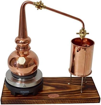 """/""""CopperGarden®/"""" Whisky-Destille ❀ 0,5 Liter ❀ Supreme electric ❀ Sorgenfrei Set"""
