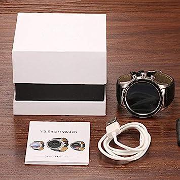 YUKIKO LEMFO Y3 Smart Watch - Soporte GPS WiFi 3G Heart Rate ...