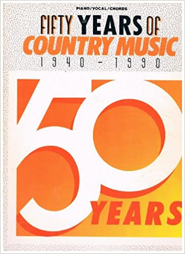 Download online Fifty Years of Popular Music 1940-1990 (Piano/Vocal/Chords) PDF, azw (Kindle)