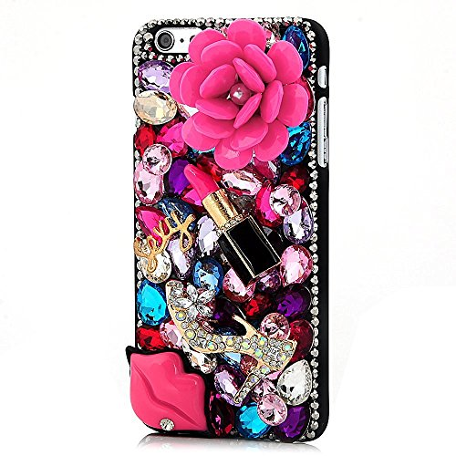 google-pixel-case-stenes-luxurious-series-3d-handmade-shiny-crystal-sparkle-bling-case-with-retro-bo