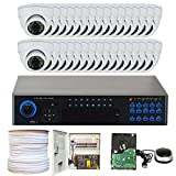 32 Channel 960H Security Camera System with 32 x 900TVL Weatherproof CCTV Surveillance Dome Cameras Review