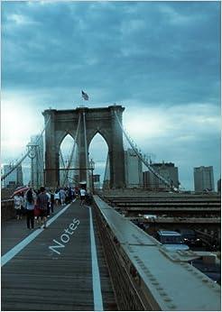 Notizbuch A4 - Notes - New York: liniert
