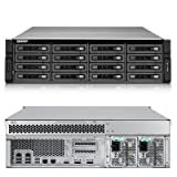 QNAP TS-EC1679U-SAS-RP-US 16-Bay NAS, 3U, SAS/SATA 6G, 4LAN, 10G-ready, Redundant PSU (TS-EC1679U-SAS-RP-US)