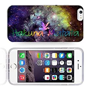 Africa Ancient Proverb Color Accelerating Universe Star Design Pattern HD Durable Hard Plastic Case Cover for iPhone 6 Plus