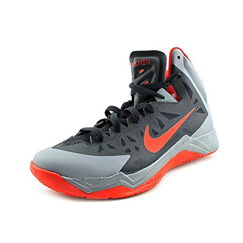 low priced 7731f b4b27 Nike Men s Zoom Hyperquickness Black University Red Cool Grey Basketball  Shoes 12 Men US - Buy Online in Oman.   Apparel Products in Oman - See  Prices, ...