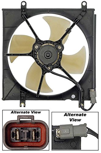 APDTY 731341 Radiator Cooling Fan Blade Motor Shroud Assembly Fits 1997-2001 Honda CR-V (Replaces OE 19030-P3F-024, 19015-P3F-004, 19020-P5M-004)