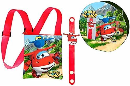 Set regalo bandolera pulsera Super Wings
