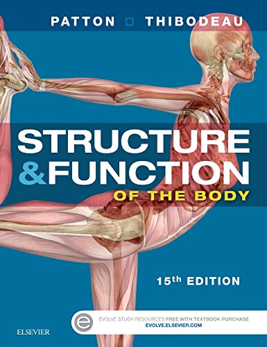 Structure & Function of the Body - Softcover (Structure And Function Of The Body 15th Edition)
