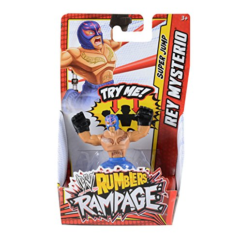 Rey Mysterio WWE Rumblers Rampage Action Mini Figure (Rey Mysterio Wwe)