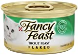 Pack of 24, 3-Ounce Cans, Flaked Trout Feast Wet Cat Food For Sale
