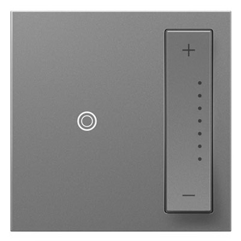 Legrand Adorne ADTP703TUM4 SofTap Universal Three-Way Wall Dimmer Switch 700W Magnesium 4 Pack