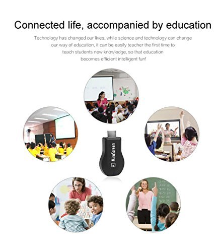 Wifi Display Dongle Miracast DLNA Airplay Wireless display HDMI adaptor TV Stick dongle for iPhone Android IOS by Wristel