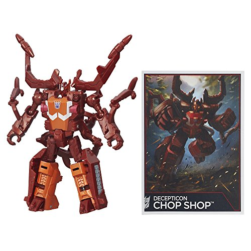 Transformers Generations Combiner Wars Legends Class Chop Shop - Shops Legends