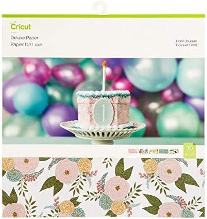 Pens Cricut Floral Bouquet Deluxe Paper Mat and Tools Bundle