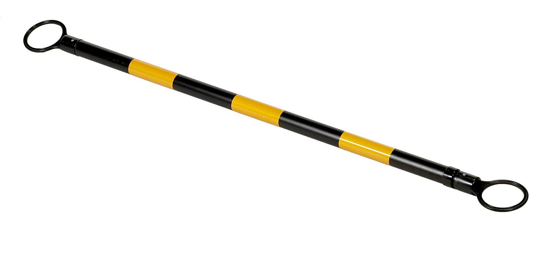 2 OD x 53-84 Length Troy Safety Orange White PVC Retractable Cone bar 1PCS CBAROW7