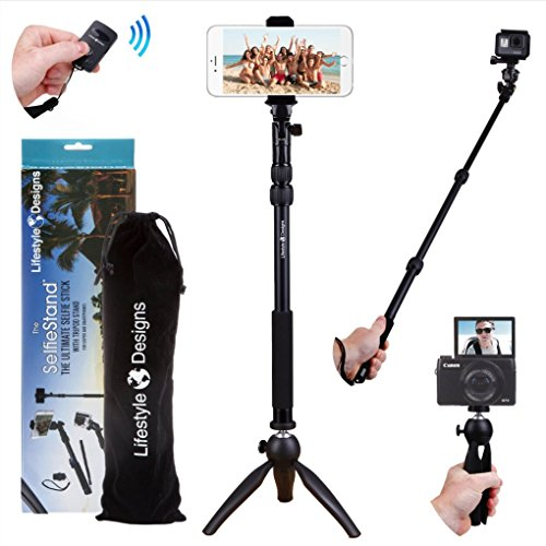 Premium RUGGED Selfie Tripod Bluetooth product image