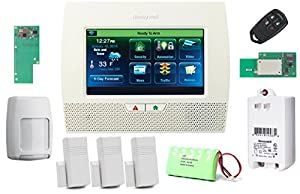 honeywell lynx touch l7000 wireless residential commercial security alarm kit with. Black Bedroom Furniture Sets. Home Design Ideas