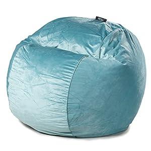 Amazon Com Posh Spa Velvet Large Bean Bag Chair