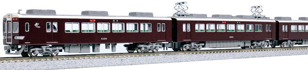 KATO Nゲージ 阪急6300系 基本 4両セット 10-1244 鉄道模型 電車 B00MIFCMLK