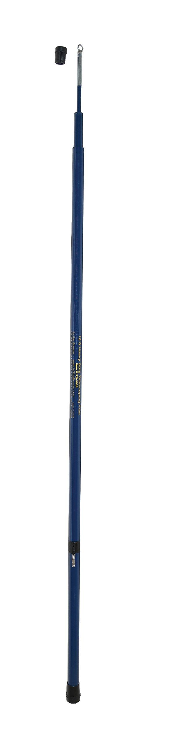 In the Breeze Heavy Duty Telescoping Pole - 10-Foot
