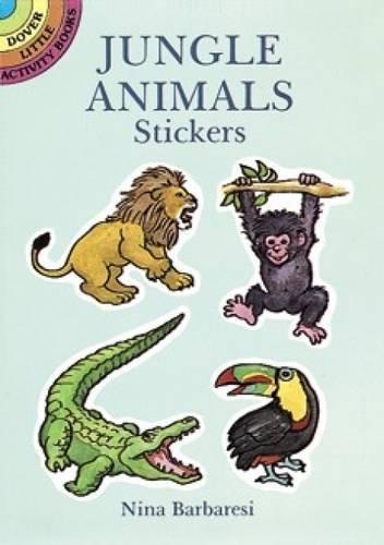 Jungle Animals Stickers (Dover Little Activity Books Stickers) (Jungle Scrapbooking)