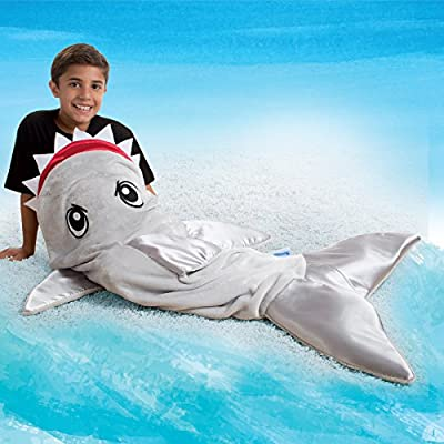 Snuggie Tails Shark Blanket for Kids