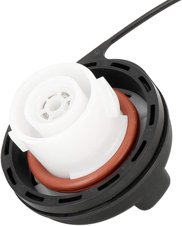 X AUTOHAUX 20915842 GT330 Car Black Engine Oil Fuel Gas Tank Filler Cap Cover For GM