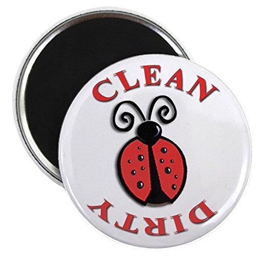CafePress - Ladybug Dishwasher Magnet - 2.25
