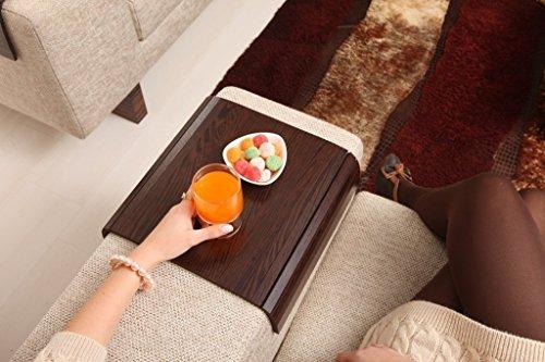 Sofa Tray Table ( Tropical Wenge ), Sofa Arm Tray, Armrest Tray, Sofa Arm Table, Couch Tray, Coffee Table, Sofa Table, Wood Tray