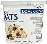 Love Grown Foods Hot Oats - Blueberry Banana Walnut - 2.22 oz - 8 Pack