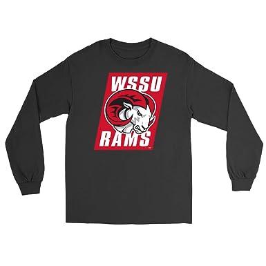 Official NCAA Winston-Salem State University - PPWSU054 Mens Womens  Boyfriend Long Sleeve Tee  f6e647181