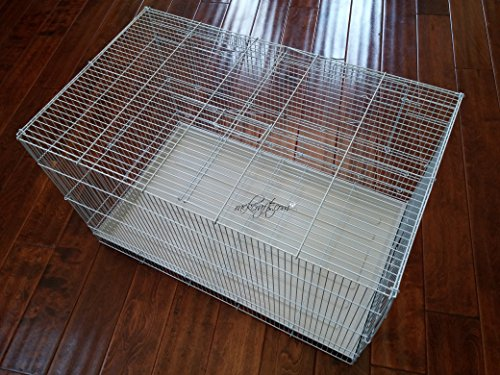 rackcrafts.com XL Dividable Breeding Flight Bird Cage Qua...