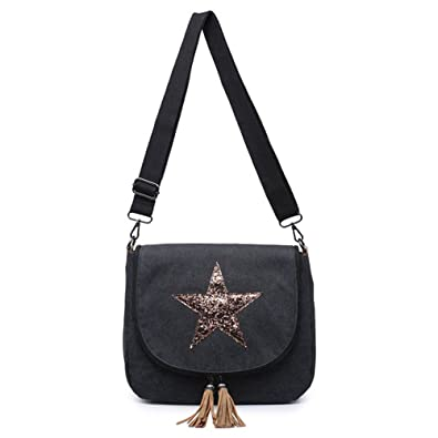 d9700860 Womens Celebrity Designer Style Cross-Body Bag - Ladies Casual Bag